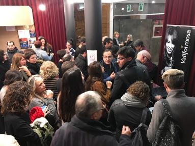 Cava reception on 12 December 2016